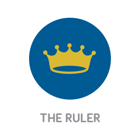 White River Design Branding with Personality Icon of The Personality Archetype The Ruler